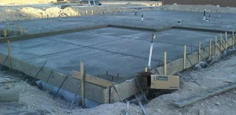 Pouring concrete slab, Concrete patio slab, Concrete slab floor, Concrete slab construction, Monolithic slab